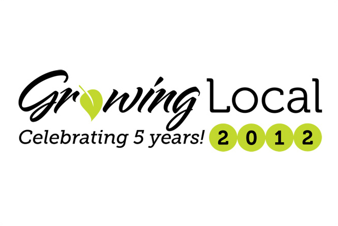 2012 Growing Local Conference logo