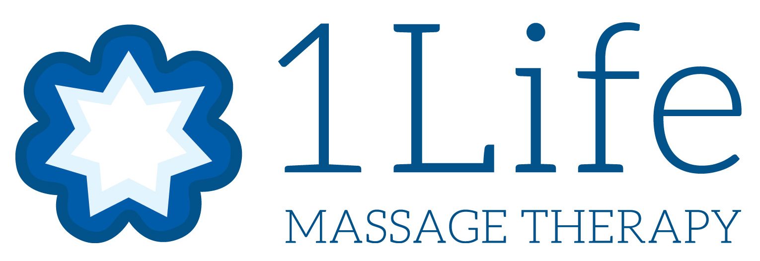 1 Life Massage Therapy logo