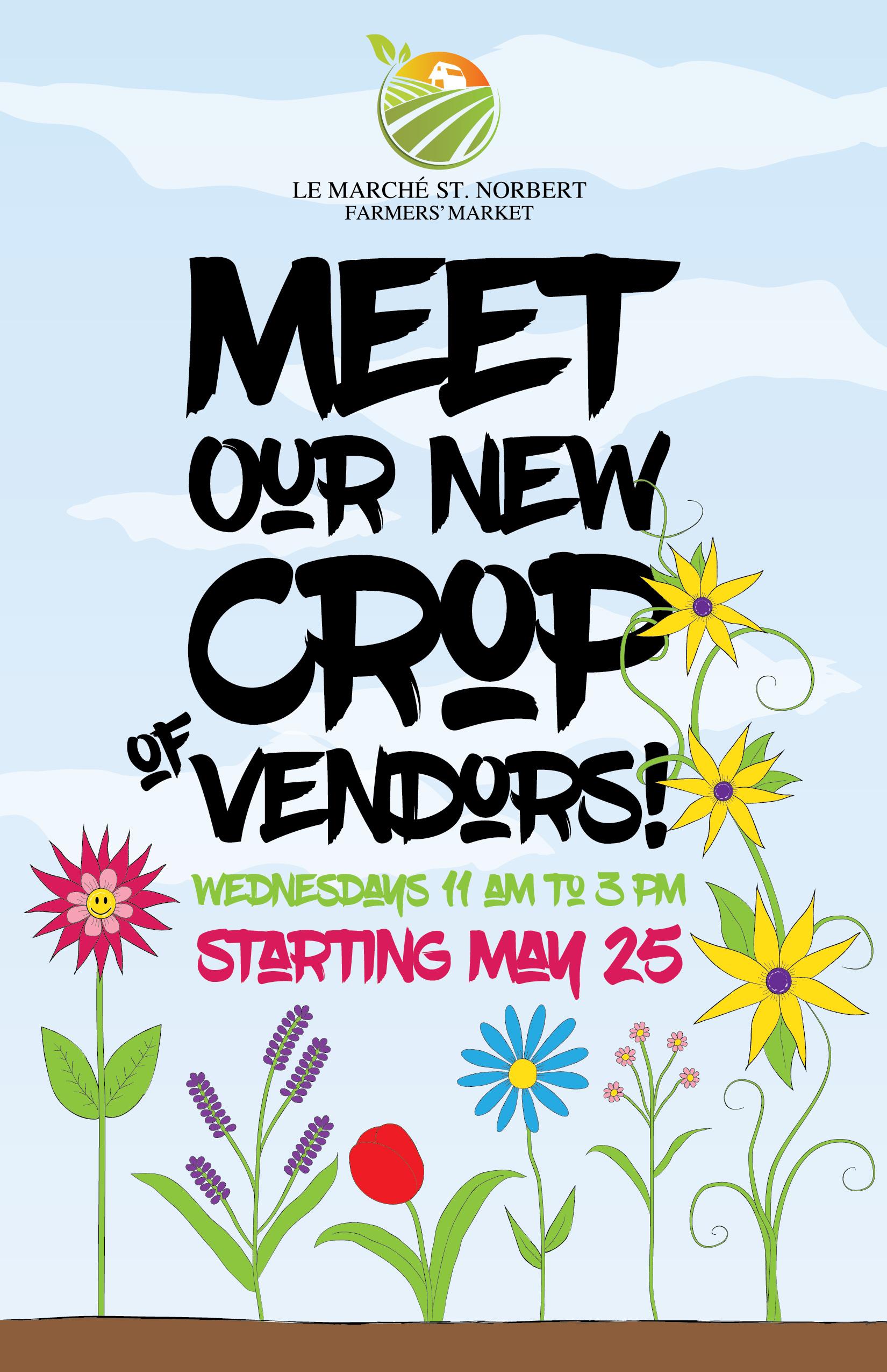 St. Norbert Farmers' Market – Vendor Poster