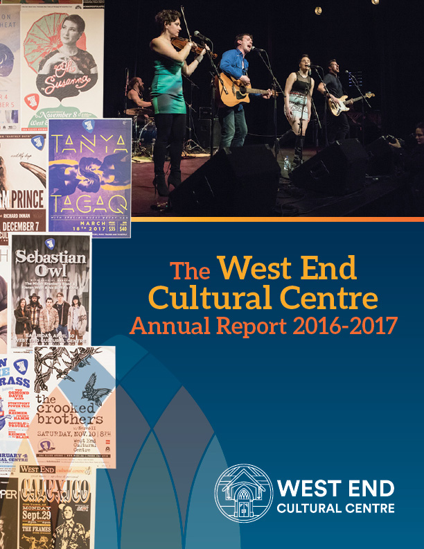 West End Cultural Centre Annual Report